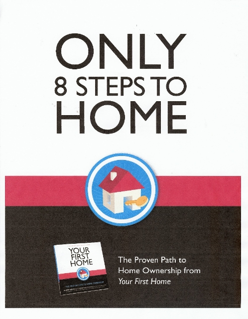 8 steps to home cover page