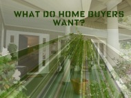 What Homebuyers are looking for in 2012